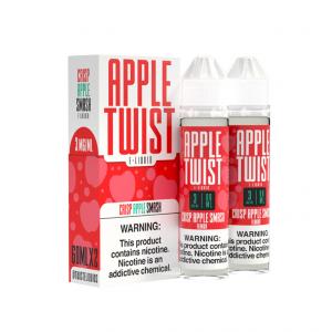 Crisp Apple Smash 120ML Apple Twist By Twist E-Liquids