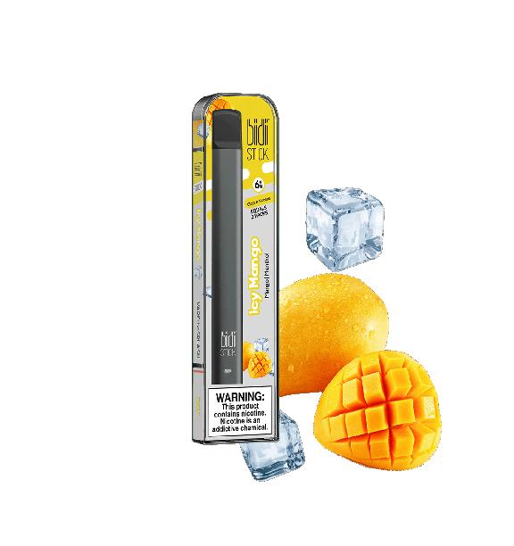 Bidi Stick Icy Mango Portable Pod System Vapor Baba